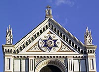 Church of Santa Croce - Florence: the facade