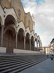 Church of Santa Croce - Florence: exterior