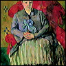 Paul Cézanne - Madame Cezanne in a Red Armchair